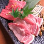 Yonezawa beef sirloin & Yamato pork loin